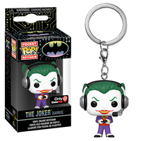 Pocket Pop Keychain The Joker (Gamer) - GameStop Exclusive