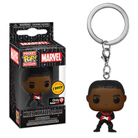 Pocket Pop Keychain Miles Morales (Unmasked, Gamer) -  GameStop Exclusive  **Chase**