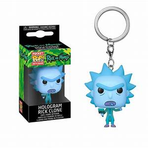 Pocket Pop Keychain Hologram Rick Clone (Rick & Morty)