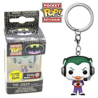 Pocket Pop Keychain The Joker (Gamer, Glow) - GameStop Exclusive