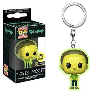 Pocket Pop Keychain Toxic Morty - Hot Topic Exclusive (Rick & Morty)