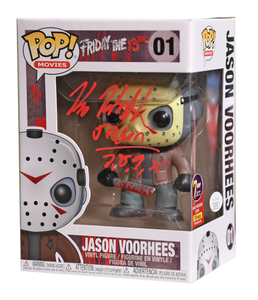 Signature Series Jason Voorhees Signed Pop - Kane Hodder