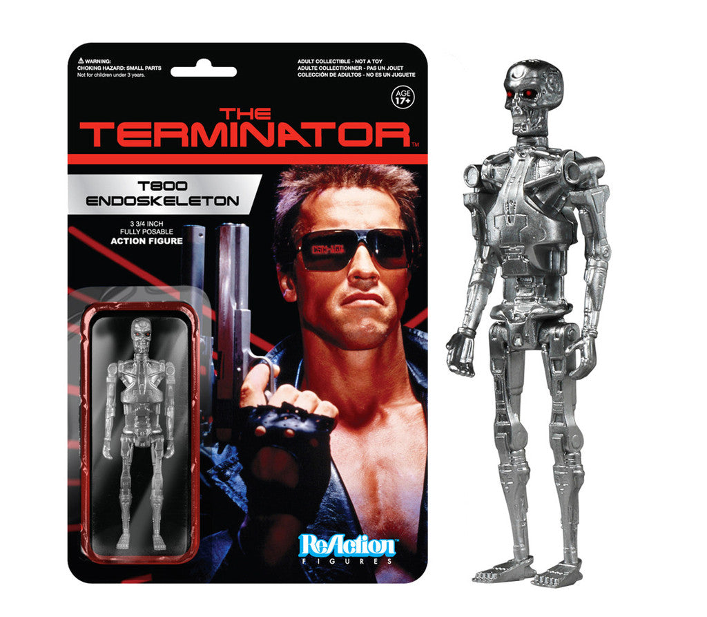 Funko ReAction T800 Endoskeleton (The Terminator)