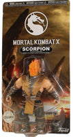 Funko Retro Action Figures Mortal Kombat X - Scorpion (Flaming Head)  **Chase**