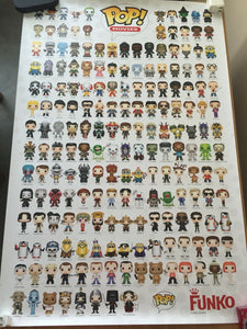 Pop! Posters - Movies - 2015 SDCC Exclusive [Condition: 7/10]