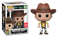 Western Morty (Rick & Morty) 364 - 2018 Summer Convention Exclusive  [Damaged: 7.5/10]