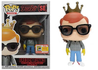 Freddy Funko (Steve, Stranger Things) SE - 2018 SDCC Exclusive /450 made  [Condition: 6/10]