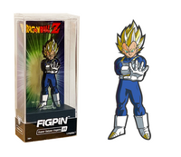 FiGPiN Dragon Ball Z - Super Saiyan Vegeta 25 (hard case)