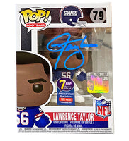 Signature Series Lawrence Taylor Signed Pop - NFL New York Giants