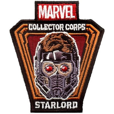 Marvel Collector Corps Exclusive Patches - Star-Lord