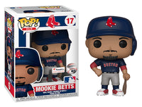 Mookie Betts (Navy Jersey, Boston Red Sox, MLB) 17 - Fanatics Exclusive  [Damaged: 7.5/10]