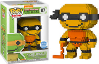 Michelangelo (8-Bit Neon, Teenage Mutant Ninja Turtles) 07 - Funko Shop Exclusive