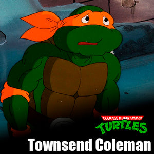 Signature Series Townsend Coleman Signed Pop - Michelangelo (Teenage Mutant Ninja Turtles)