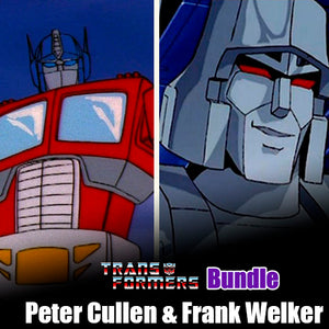 Signature Series Transformers Bundle - Peter Cullen & Frank Welker Signed Pops