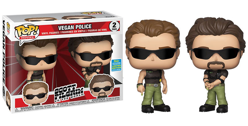 Vegan Police (Scott Pilgrim vs the World) 2-pk - 2019 Summer Convention Exclusive  [Damaged: 7/10]