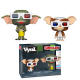 Funko Vynl. Gizmo & Gremlin (3D Glasses) - 2018 Fall Convention Exclusive