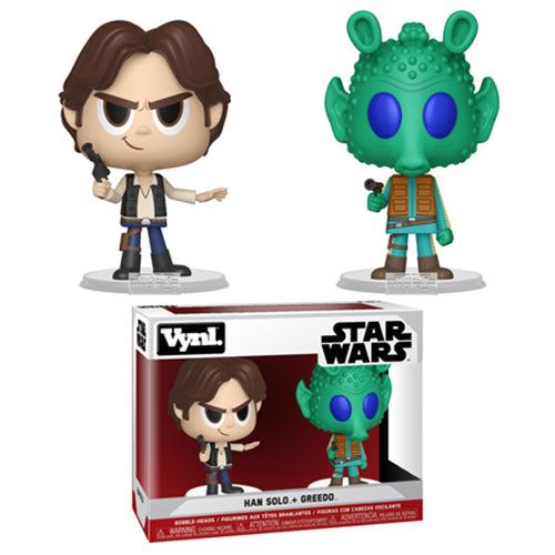 Funko Vynl. Han Solo & Greedo  [Damaged: 7/10]