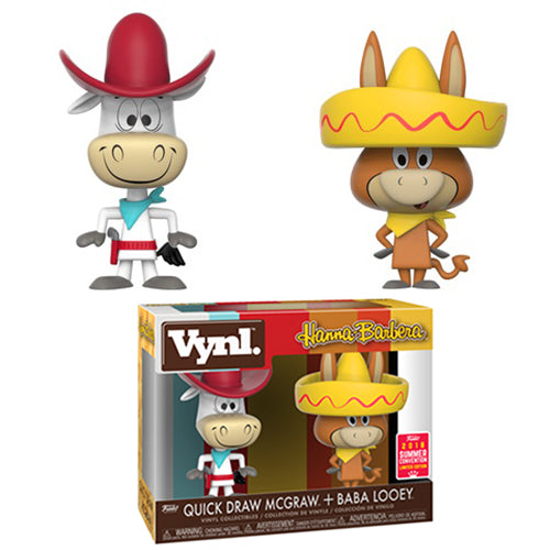 Funko Vynl. Quick Draw McGraw + Baba Looey (Hanna-Barbera) - 2018 Summer Convention Exclusive /3500 made