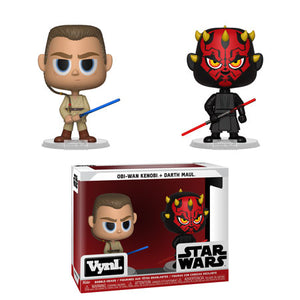 Funko Vynl. Obi Wan & Darth Maul  [Damaged: 7.5/10]