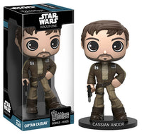 Funko Wacky Wobbler Captain Cassian Andor  [Damaged: 7.5/10]