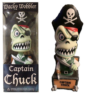 Funko Wacky Wobbler Captain Chuck [Box Condition: 7/10] **Signed by Chuck**
