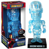 Funko Wacky Wobbler Iron Man Mark VI (Holographic, Iron Man 2) - Target Exclusive [Box Condition: 6/10]