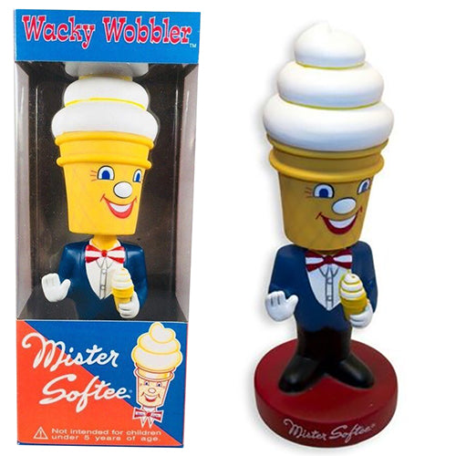 Funko Wacky Wobbler Mister Softee (Vanilla)  [Box Condition: 7.5/10]