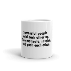 Successful People Meme Mug