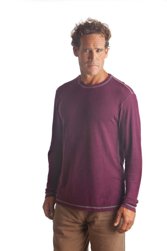 Long Sleeve Hemp Tencel T-shirt - Vital Hemp, Inc.