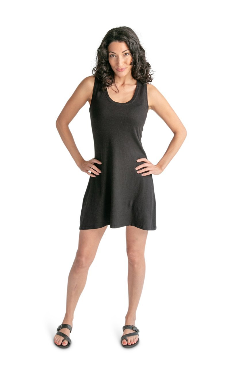Racer Back Hemp Tank Dress - Vital Hemp, Inc.
