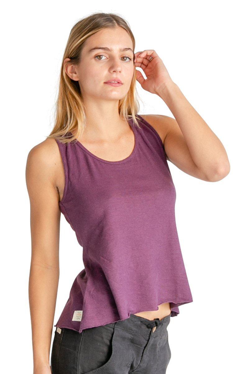 Racer Back Hemp Tank Top - Vital Hemp, Inc.