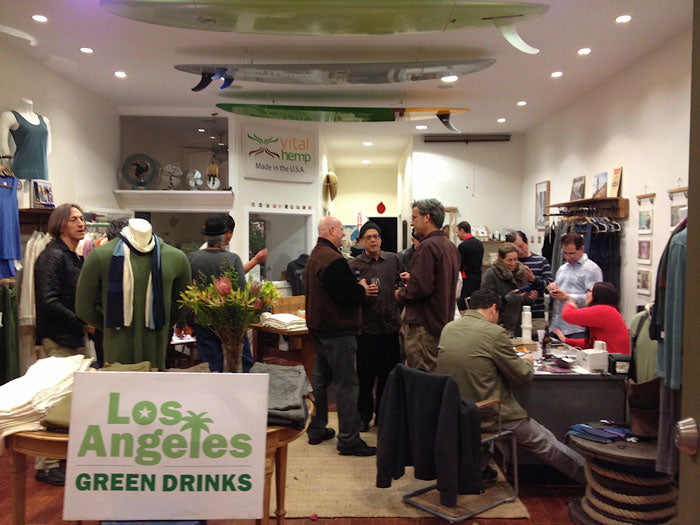 Green Drinks at the Store
