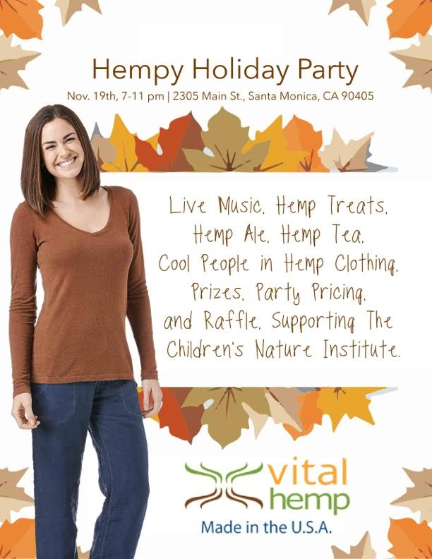 Come and join 2015 Hempy Holiday Party