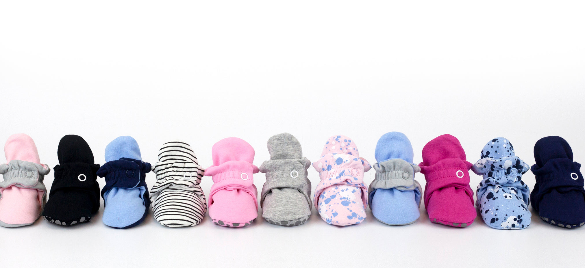 cotton baby bootie line