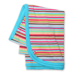 Zutano baby Blanket Super Stripe Swaddle Blanket