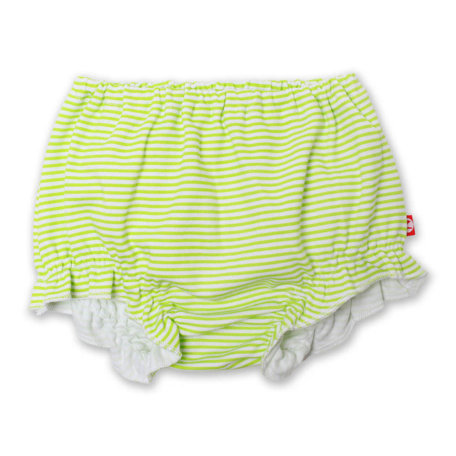 Zutano baby Bottom Candy Stripe Baby Bloomer - Lime