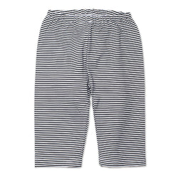 Zutano baby Bottom Candy Stripe Baby Pant - Black