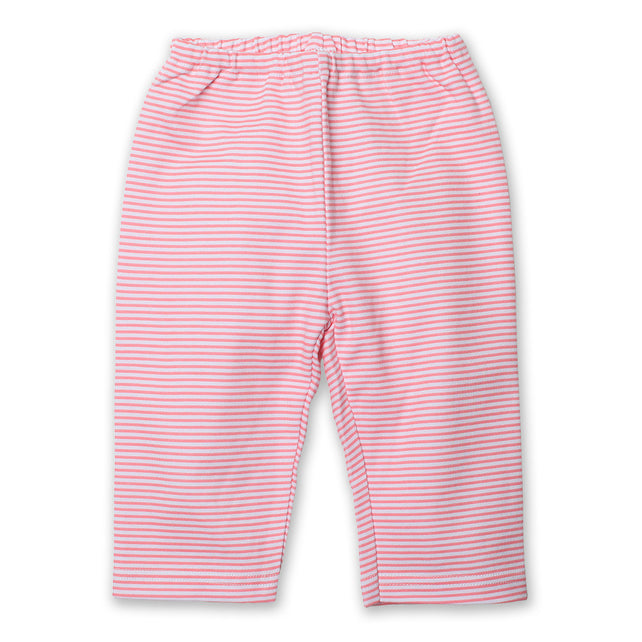 Zutano baby Bottom Candy Stripe Baby Pant - Hot Pink