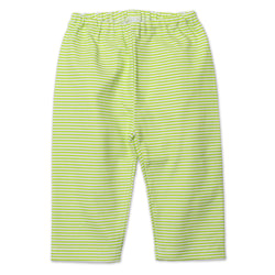 Zutano baby Bottom Candy Stripe Baby Pant - Lime