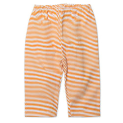 Zutano baby Bottom Candy Stripe Baby Pant - Orange