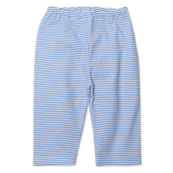 Zutano baby Bottom Candy Stripe Baby Pant - Periwinkle