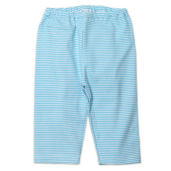 Zutano baby Bottom Candy Stripe Baby Pant - Pool