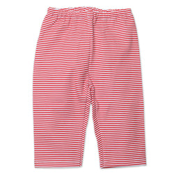 Zutano baby Bottom Candy Stripe Baby Pant - Red