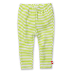 Zutano baby Bottom Candy Stripe Skinny Legging - Lime