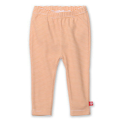 Zutano baby Bottom Candy Stripe Skinny Legging - Orange
