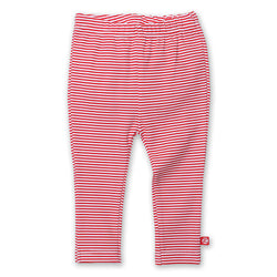 Zutano baby Bottom Candy Stripe Skinny Legging - Red