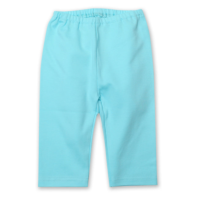 Zutano baby Bottom Cotton Baby Pant - Aqua
