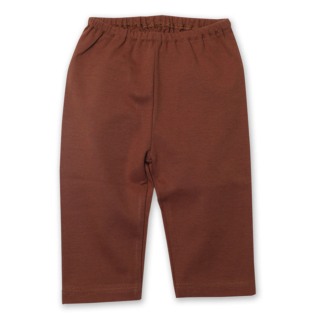 Zutano baby Bottom Cotton Baby Pant - Chocolate