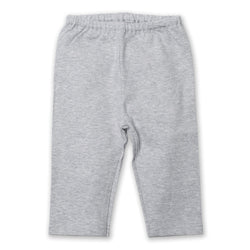 Zutano baby Bottom Cotton Baby Pant - Heather Gray