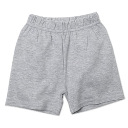 Zutano baby Bottom Cotton Baby Short - Heather Gray